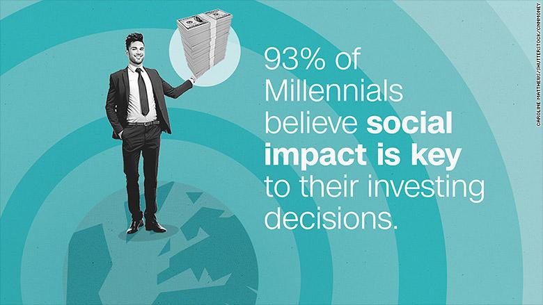 millennial investing social impact
