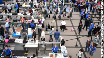 denver airport security checkpoint