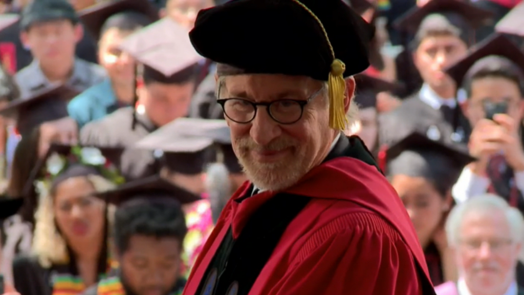 Steven Spielberg gives Harvard commencement speech