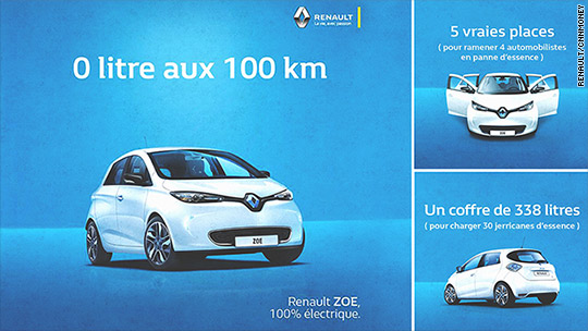 French gas shortages fuel interest in electric cars