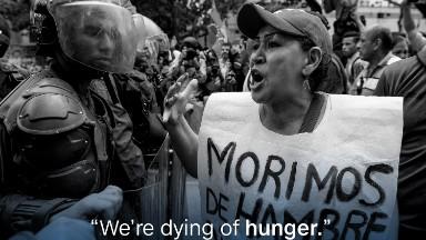Venezuela's food prices skyrocket as people go hungry