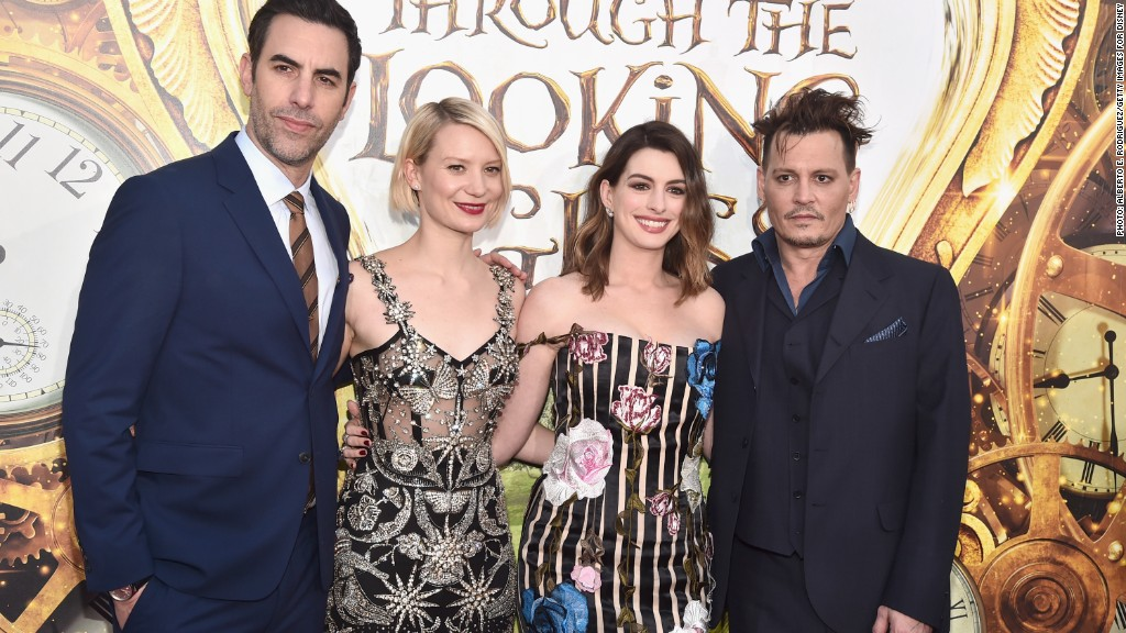 Johnny Depp's 'Alice Through the Looking Glass' tanks
