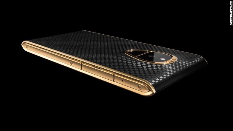 Solarin phone gold