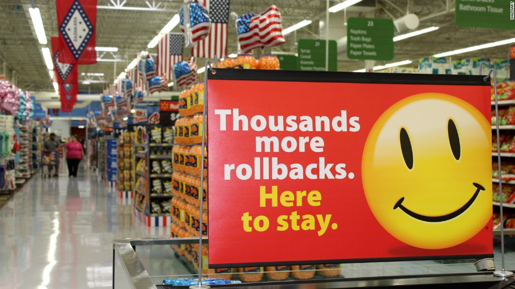 What's driving Walmart's sales?