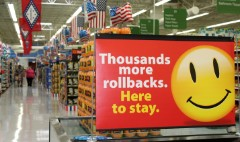 Americans are shopping...at Walmart
