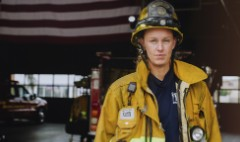Only 7% of firefighters are women. She wants to change that