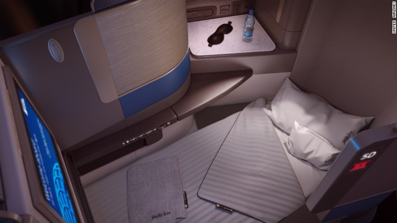 United Airlines Unveils New Luxury Business Cabin Jun 2