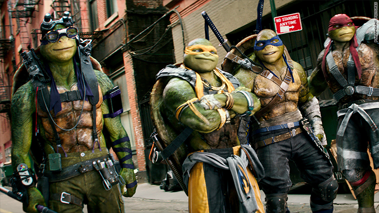 tmnt out of the shadows 1