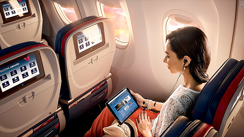 Delta Is Making All In Flight Entertainment Free Jun 3