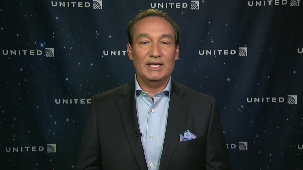 United CEO: Reinvesting in airline industry a 'healthy sign'