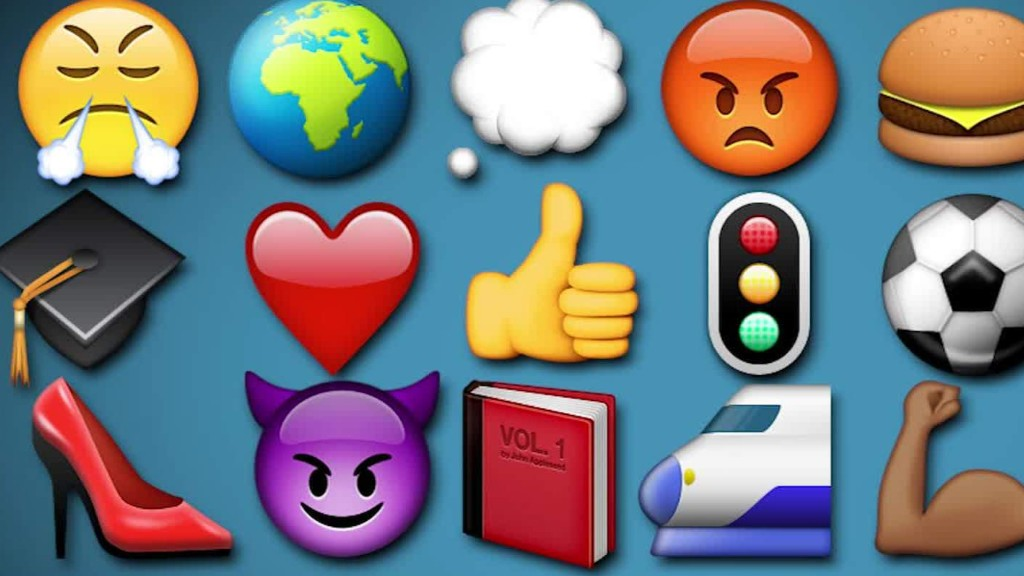 A world of emojis