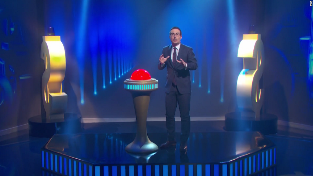 John Oliver takes on debt-collection industry, makes TV history
