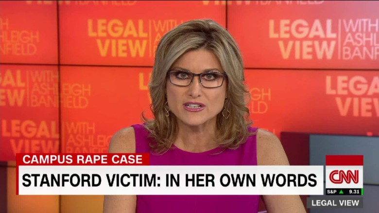 Why Ashleigh Banfield read Stanford rape victim's letter on CNN