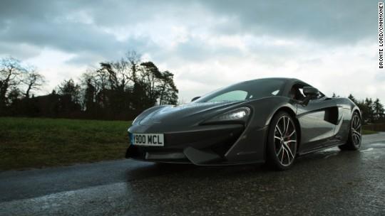 Driving the $185,000 McLaren supercar
