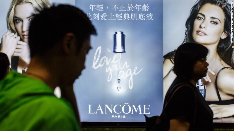 lancome china censorship