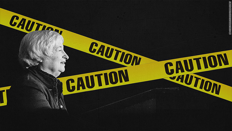 yellen caution