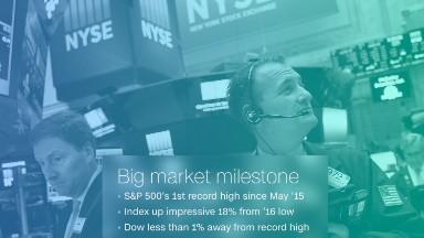 U.S. stocks at new record high