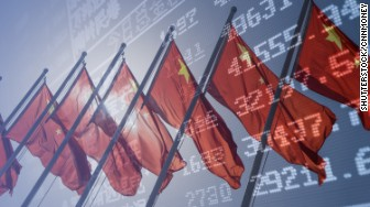 china markets flags evergreen