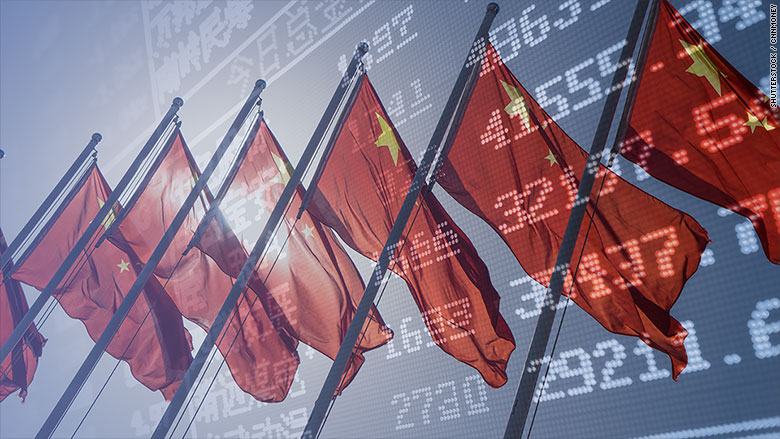 Chinese growth cools slightly in the third quarter