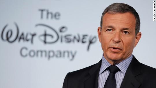 Disney's Bob Iger took a $1 million pay cut last year