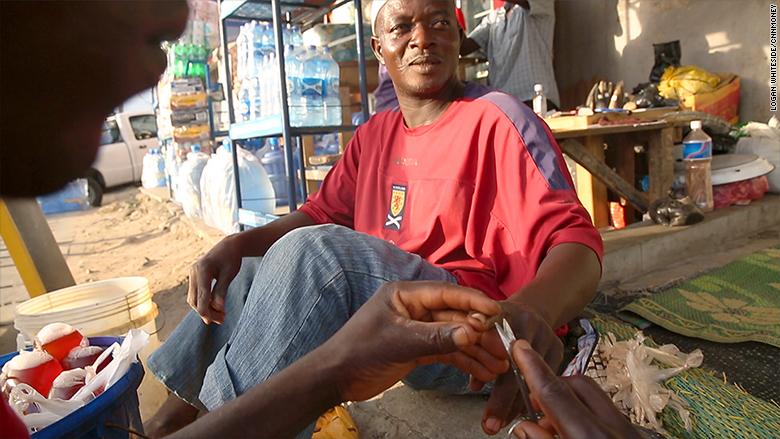 nigeria manicure
