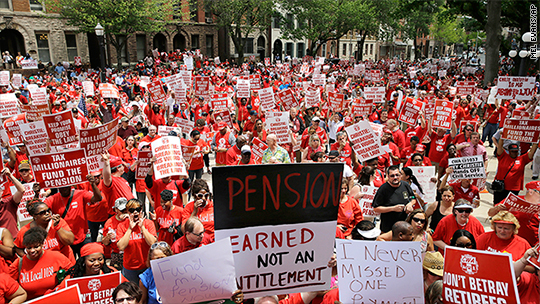New Jersey retirees won't get pension increases