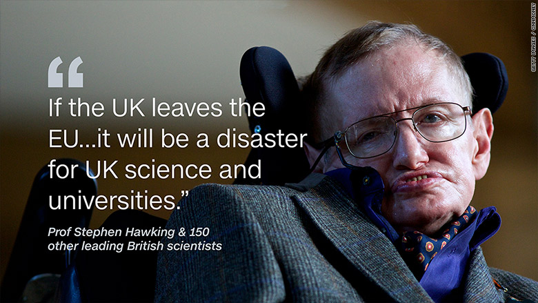 stephen hawking uk leaving eu