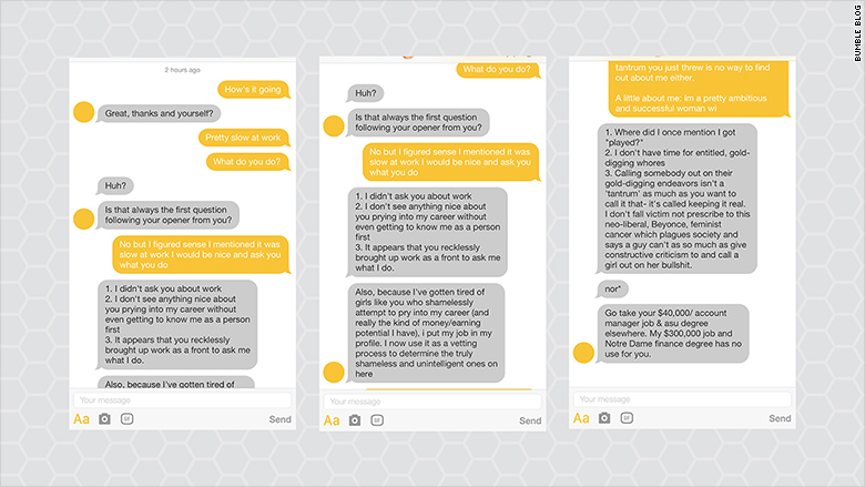 bumble messages