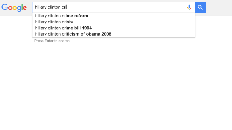 The truth about the Hillary Clinton Google conspiracy theory
