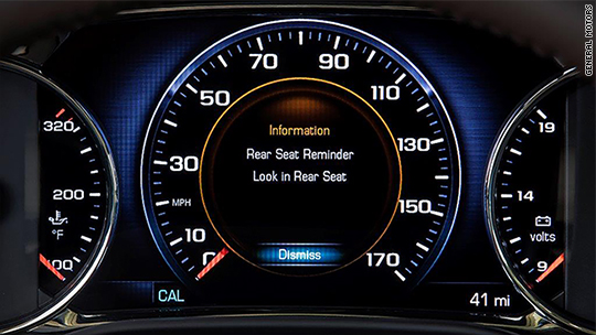 GM unveils new feature to prevent child deaths in hot cars