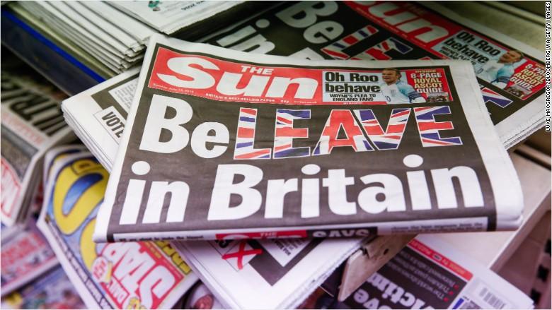 sun brexit cover