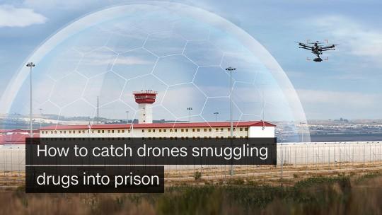 Prison drones