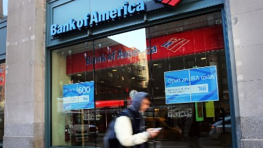Bank of America has 23% fewer branches than 2009