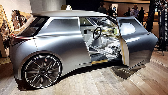 Jetsons-style Mini Cooper concept unveiled