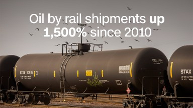 Oregon: Stop sending oil by rail