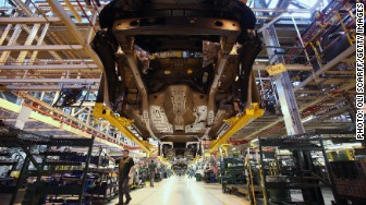 Land Rover factory UK