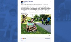 Post goes viral about dad teaching kids to invest