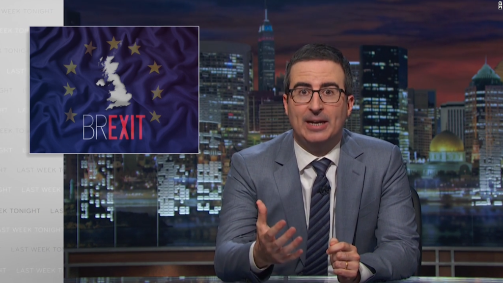 John Oliver's ode to the UK and EU