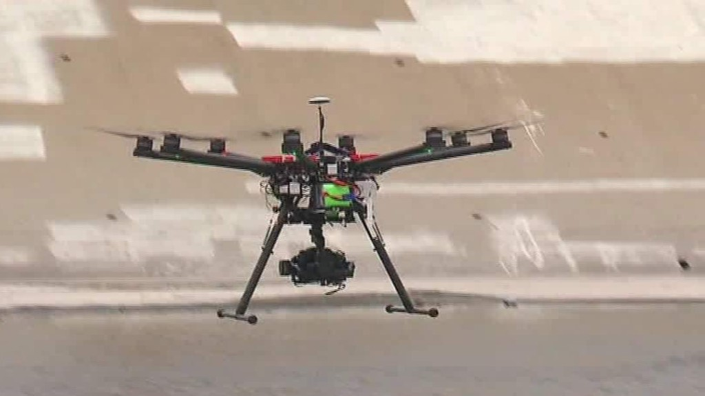 Can drones and planes safely share the skies?