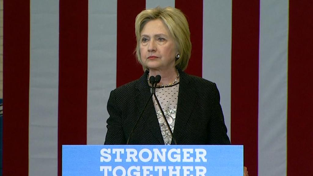 Hillary Clinton slams Donald Trump's economic plan and credentials