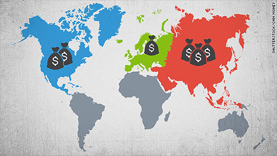 Asian millionaires now the wealthiest in the world