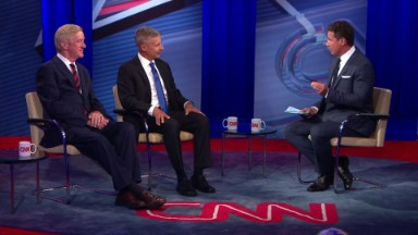 Gary Johnson vows to keep fighting, sets sights on second debate