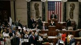 Chaos erupts on house floor over gun control