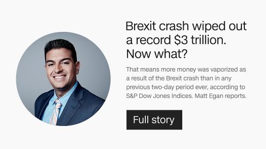 Brexit crash
