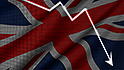 Brexit turmoil deepens stock selloff: Pound dives, Dow loses 300 points