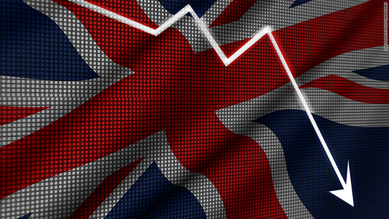 Pound dropping again as Brexit impact sinks in