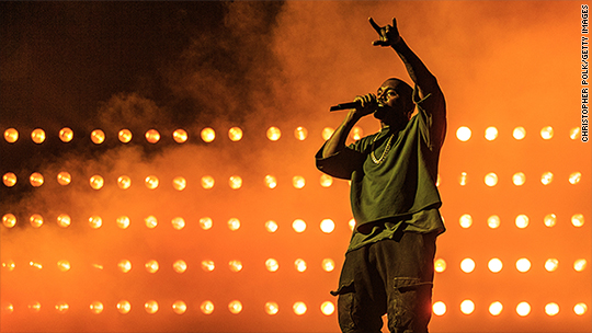 Kanye West heated about Tidal vs. Apple