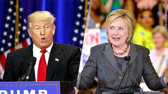 Fiscal showdown: Clinton vs. Trump