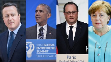 World leaders react to Brexit
