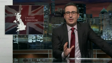 John Oliver loses it over Brexit vote
